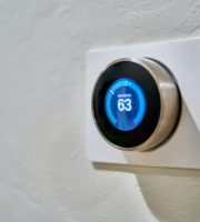 Thermostat to an energy-efficient home